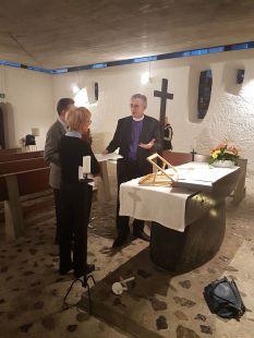 Dernières explications avant la messe