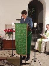 Angela des Anglicans qui lit la 2è lecture