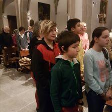Début de la messe
